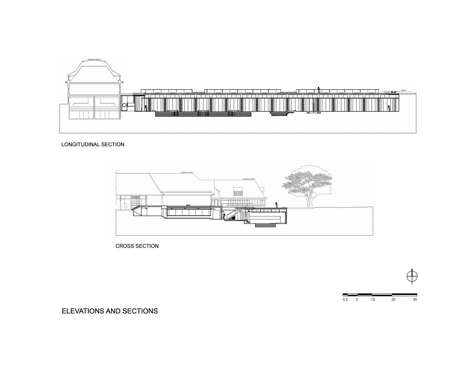 Ping Mall Plan Elevation Section : P w c spa fitness center by plan arquitectos