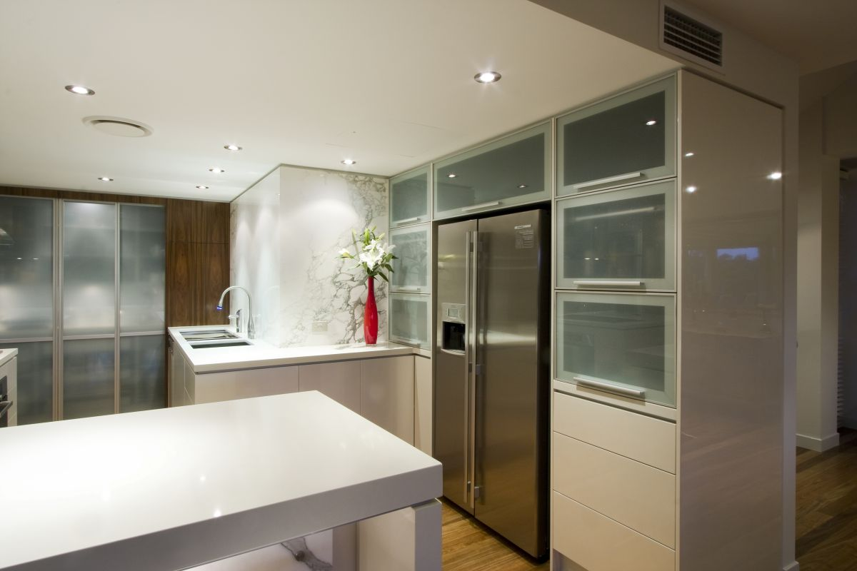 Contemporary kitchen renovation by sublime cabinet design for Dry kitchen ideas