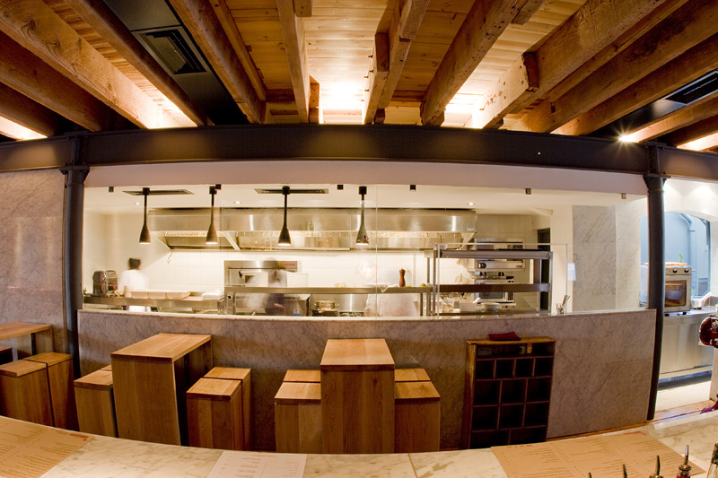 The carne restaurant interior by inhouse brand architects