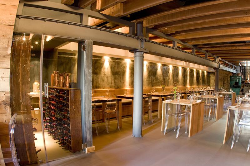 The carne restaurant interior by inhouse brand architects