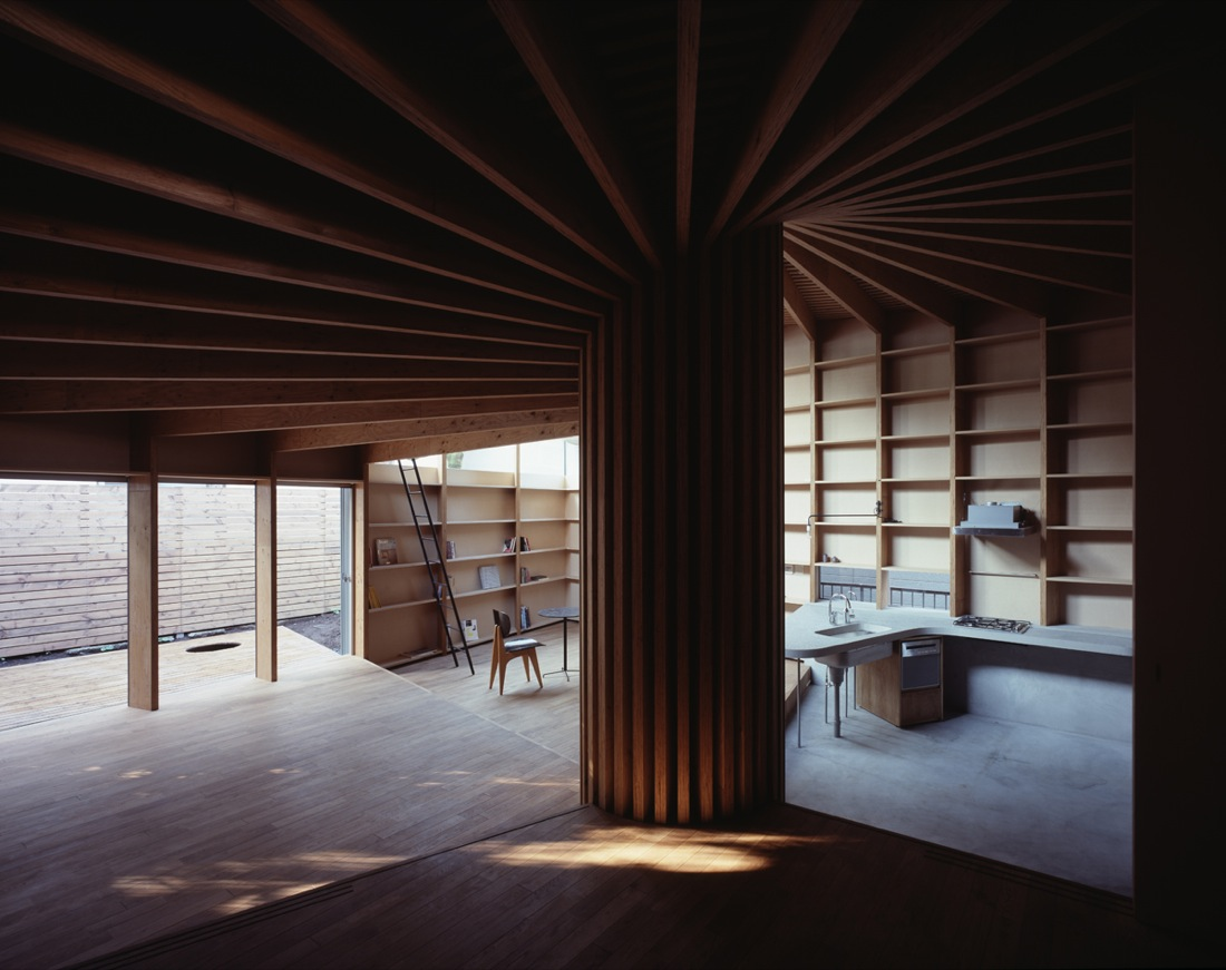 Architects: Mount Fuji Architects Studio Location: Tokyo, Japan Site Area:  162.69 Sqm. Building Area: 78.76 Sqm. Total Floor Area: 80.45 Sqm