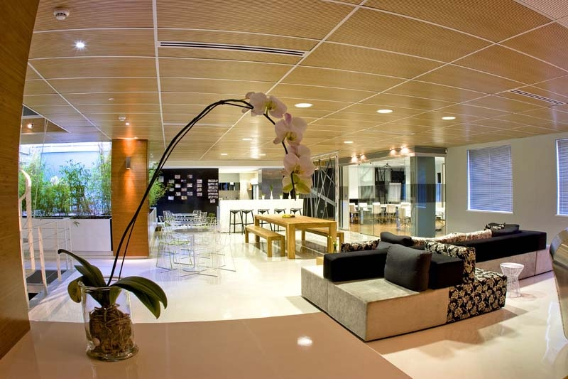 Union swiss office interior by inhouse brand architects for Latest interior design