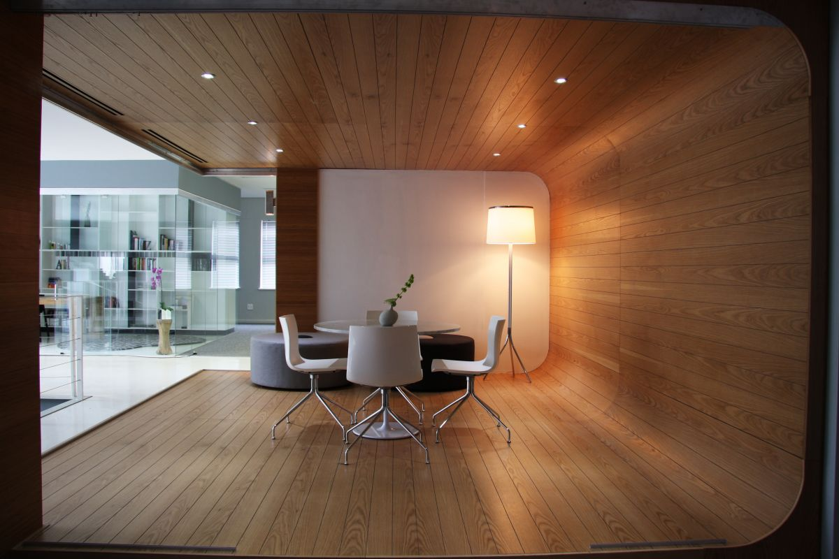 Union Swiss Office Interior By Inhouse Brand Architects