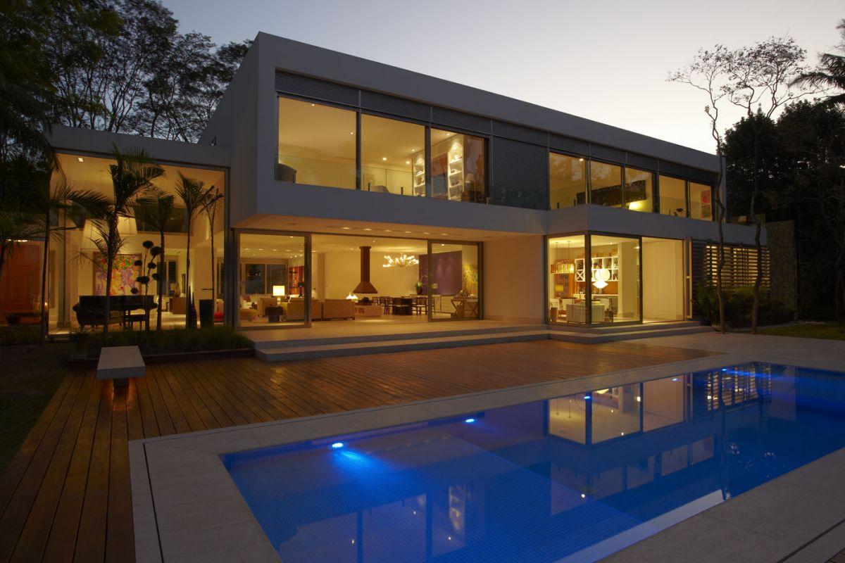 Lovely Morumbi Residence By Drucker Arquitetura Home Design Ideas