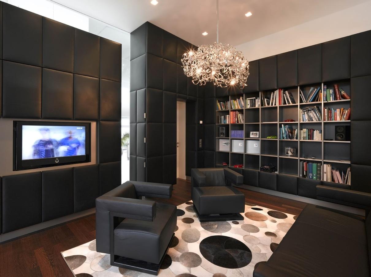 Villa a by najjar najjar architects karmatrendz - Interior design living room warm ...
