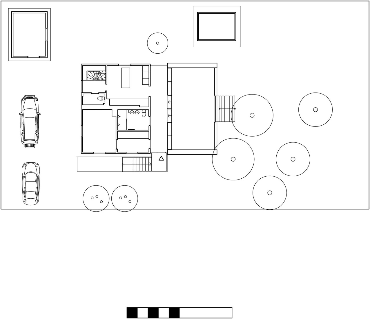 aluminum house by unit arkitektur ab