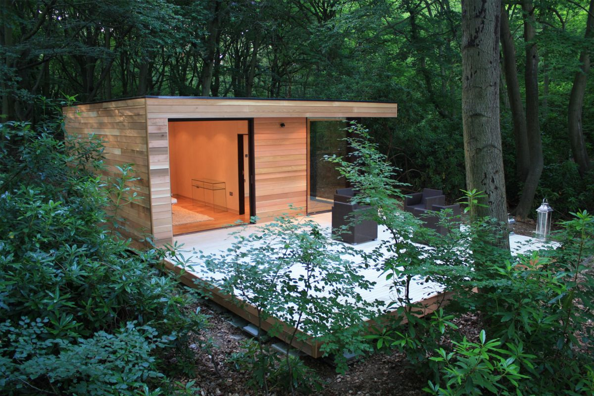Contemporary Garden Studios By In It Studios Karmatrendz