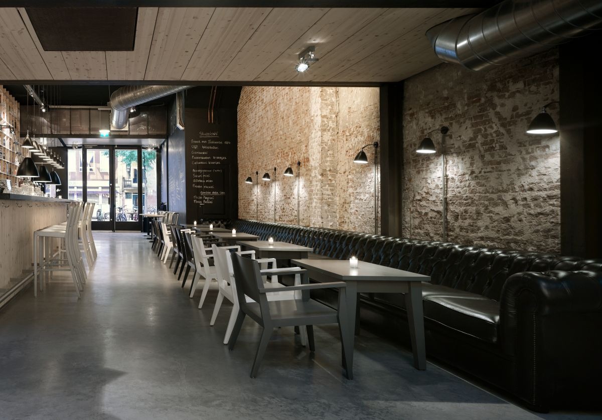 Small Restaurant Interior Design: Mazzo By Concrete Architectural Associates
