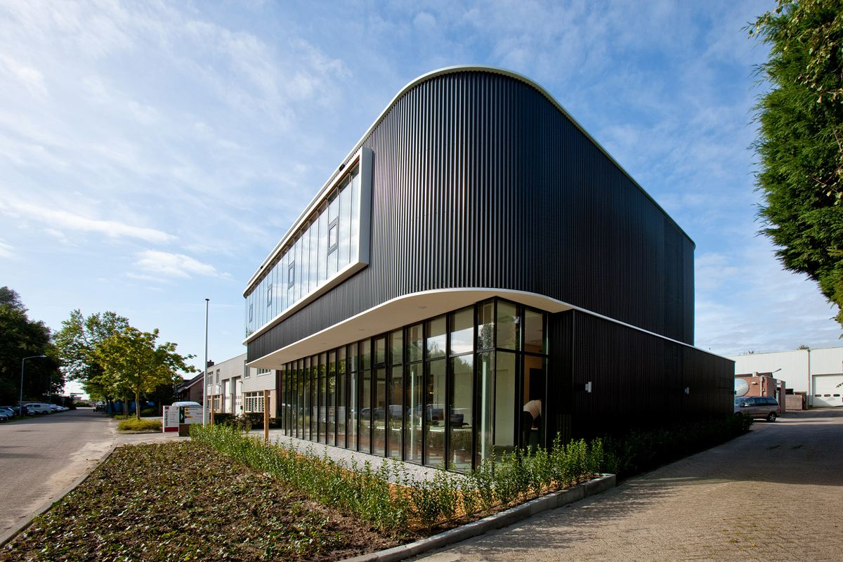 Verkerk group office building by egm architects karmatrendz - Small office building exterior design ideas ...