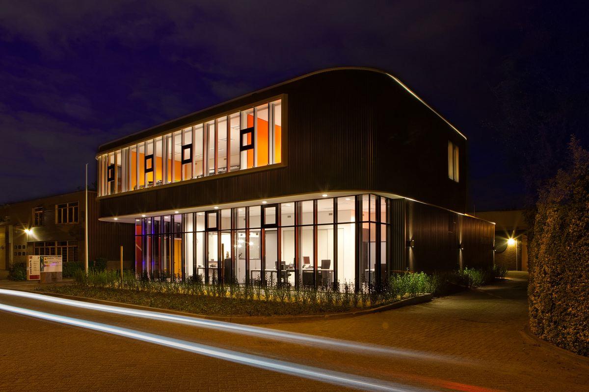 Verkerk group office building for Store building design