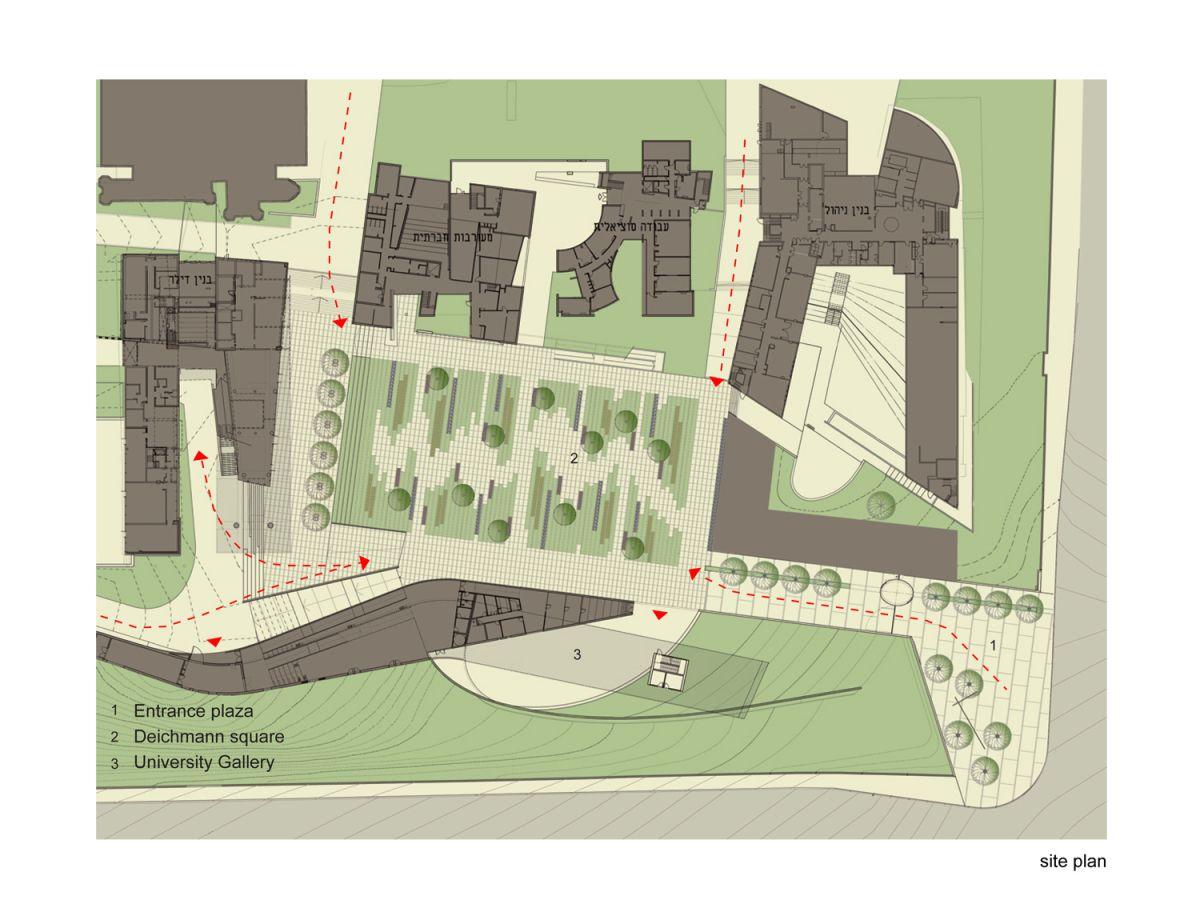 The deichmann square by chyutin architects karmatrendz for Architecture design sites