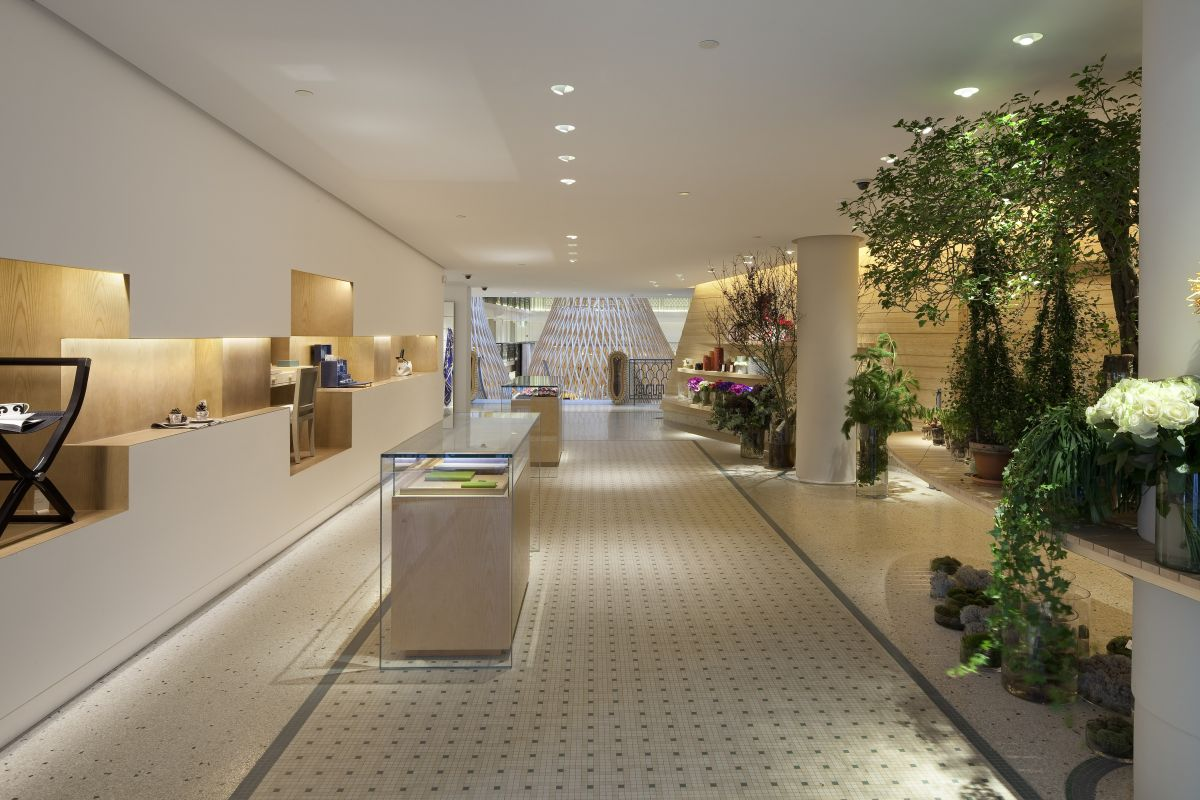 Hermes boutique at the hotel lutetia by rdai karmatrendz for Le vide interieur