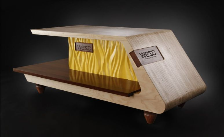 American woodworker Jory Brigham has sent us photos of his unique ...