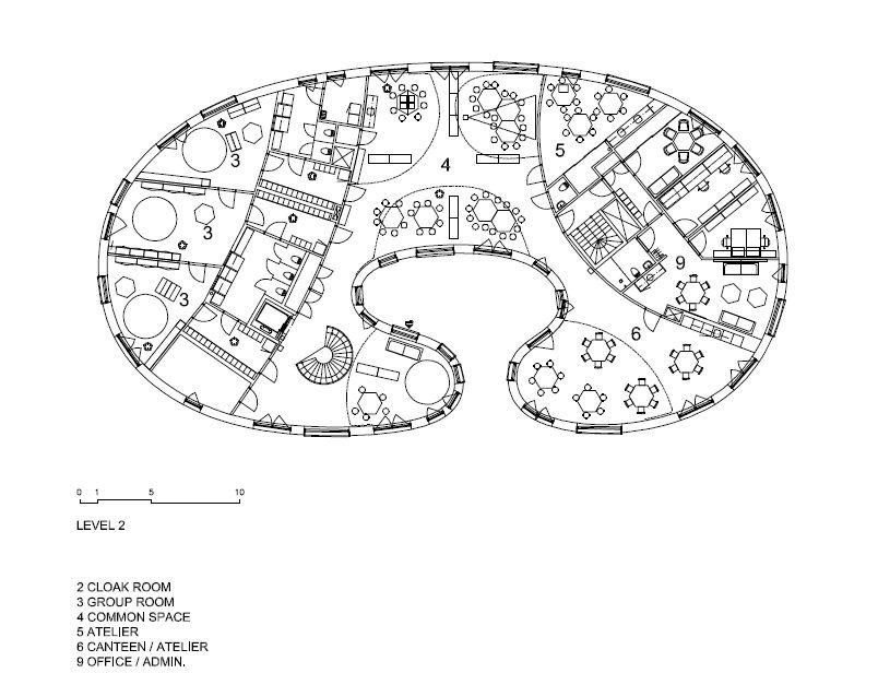 Tellus Nursery School by Tham & Videgård Architects | KARMATRENDZ