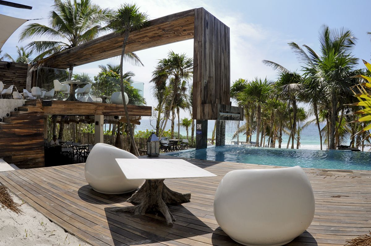 Be tulum resort by sebastian sas karmatrendz for Design hotel yucatan