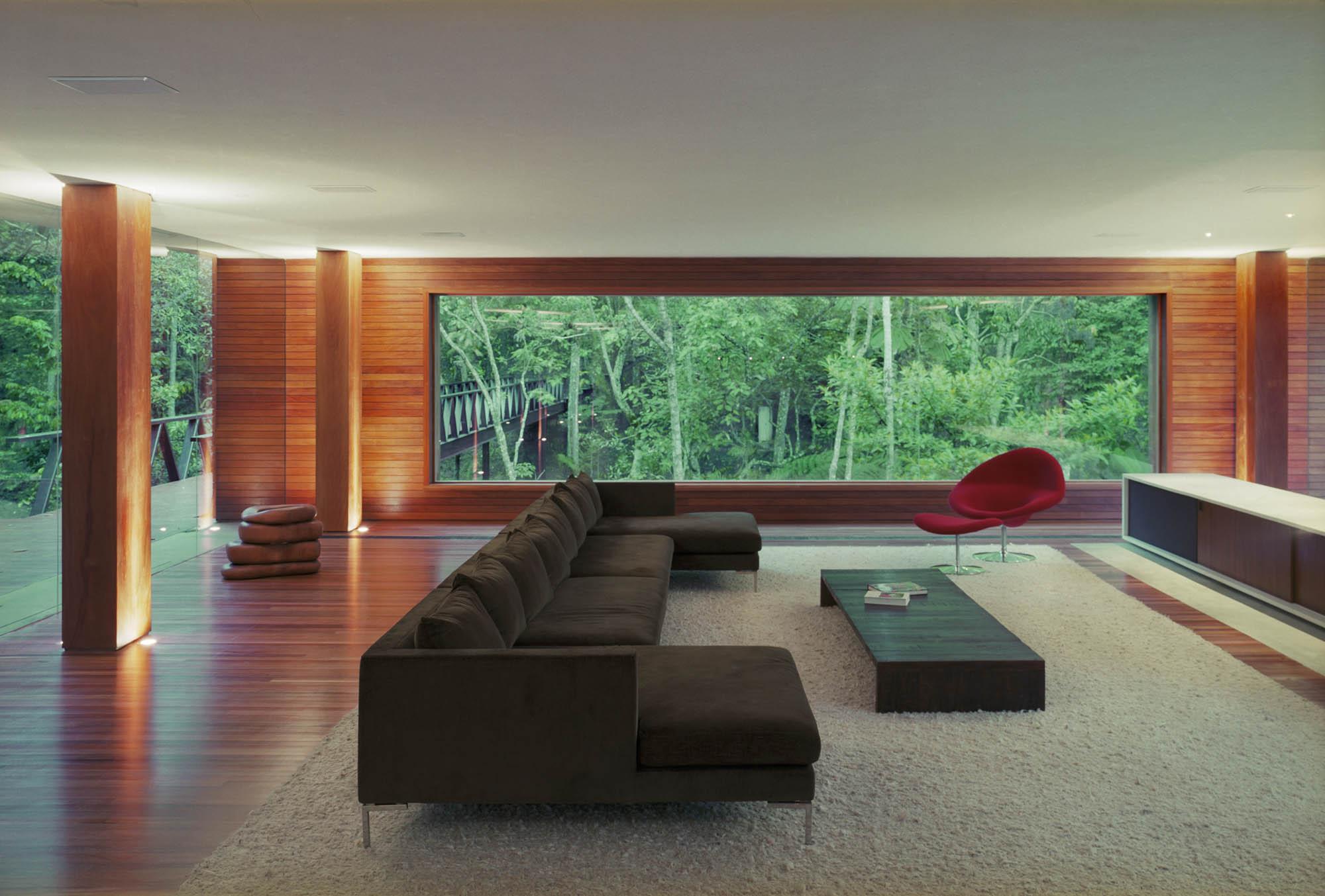 Br house by marcio kogan karmatrendz for Home architecture analogy