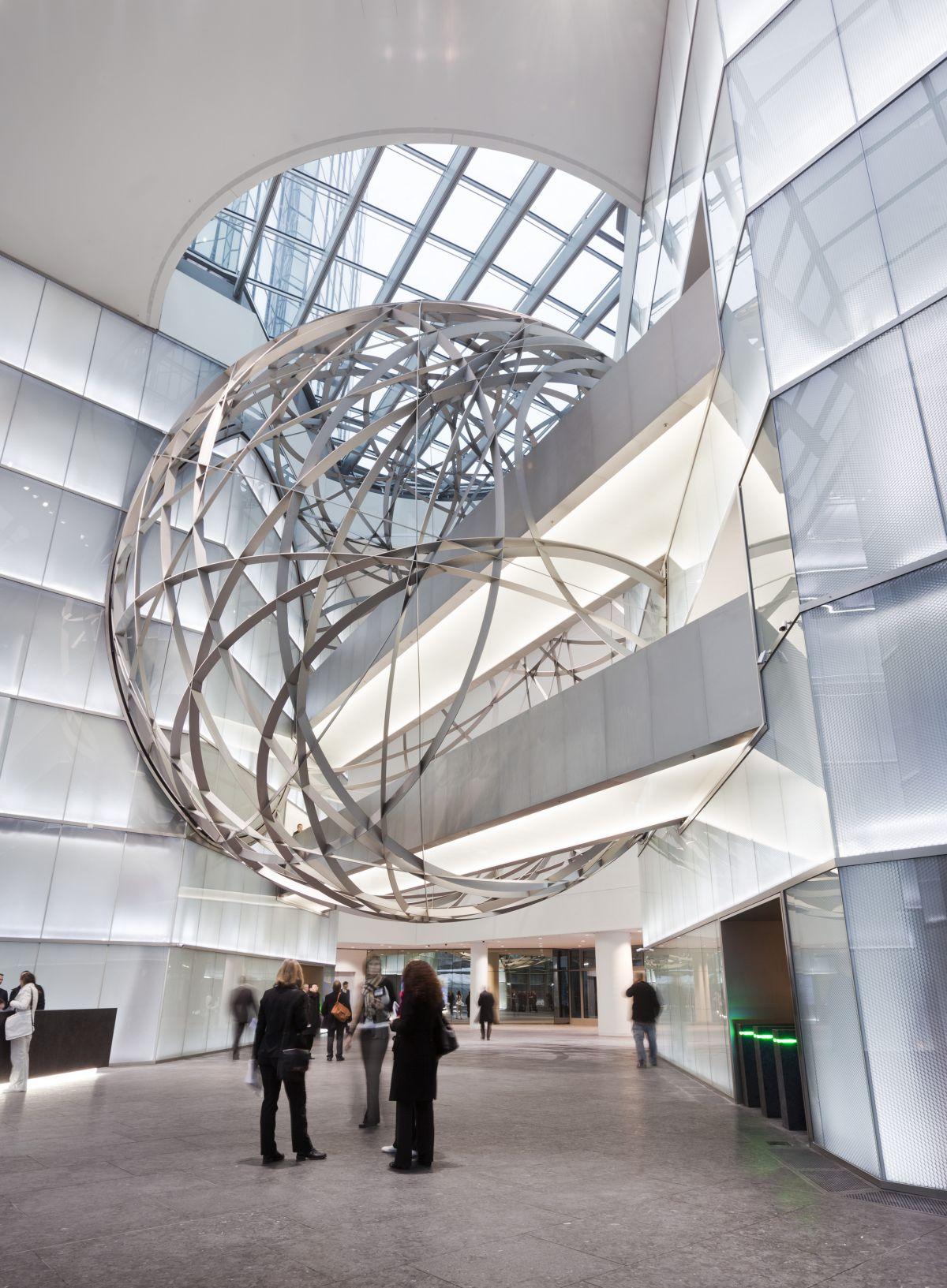 Deutsche Bank Sphere By Mario Bellini Architects Karmatrendz