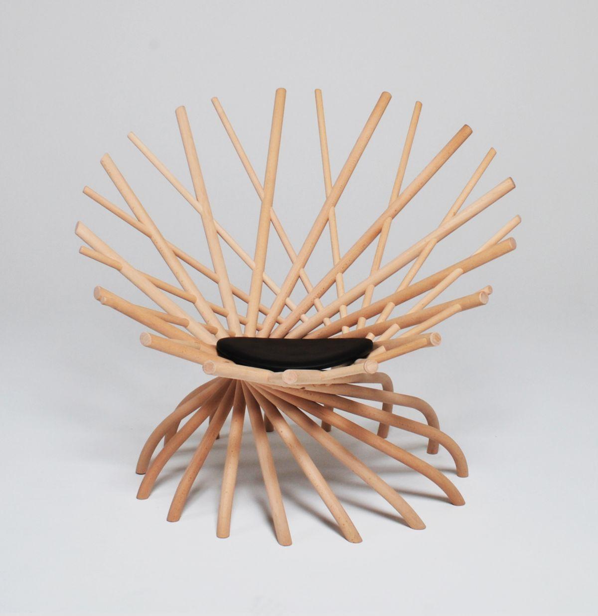 Swedish Designer Markus Johansson Has Created The NEST Chair.