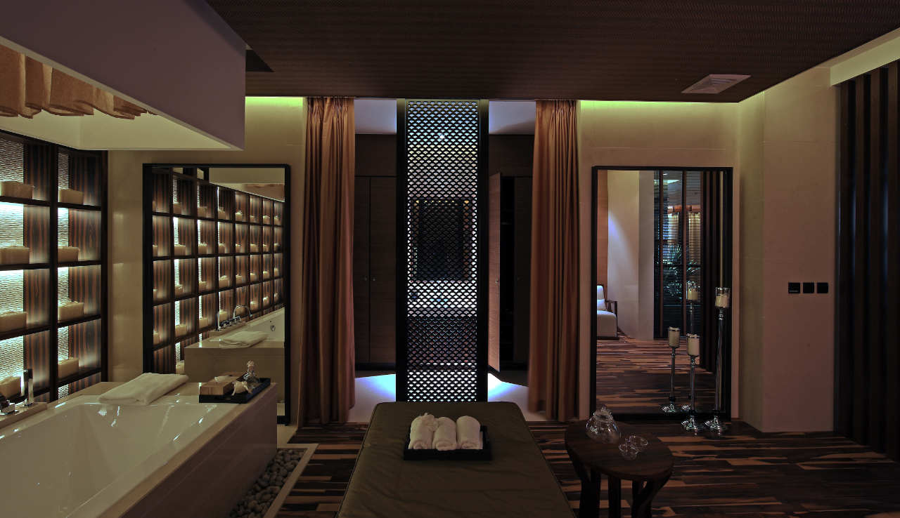 Qing shui wan spa hotel by nota design international pet for Hotel spa design
