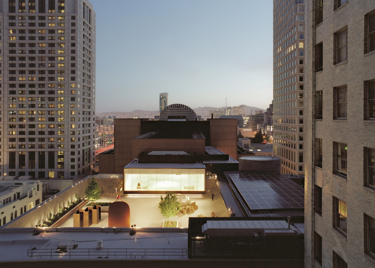 San Francisco Museum Of Modern Art Rooftop Garden By