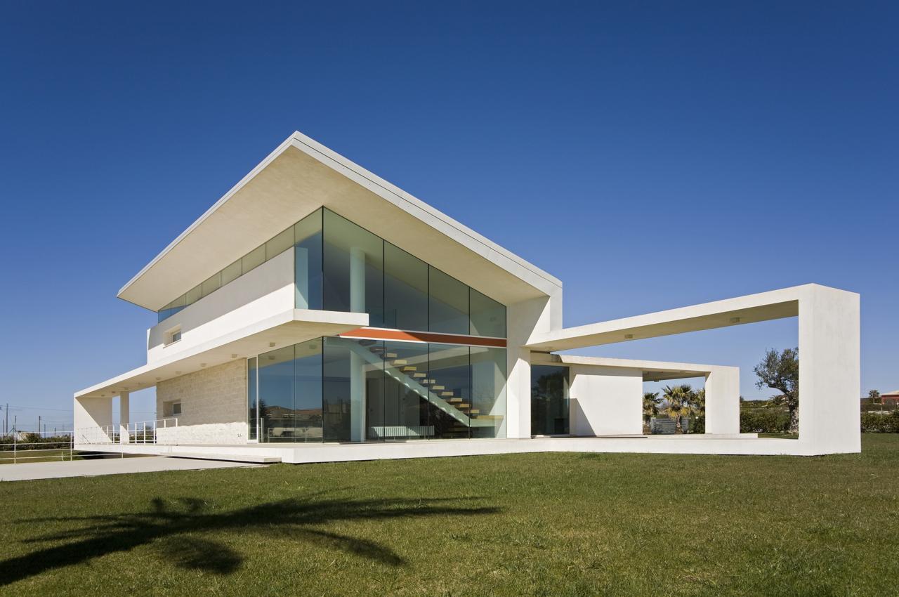 Villa t by architrend architecture karmatrendz - Architecture de villa moderne ...