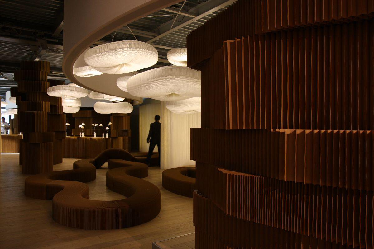 molo design at superstudio pi in milan karmatrendz. Black Bedroom Furniture Sets. Home Design Ideas