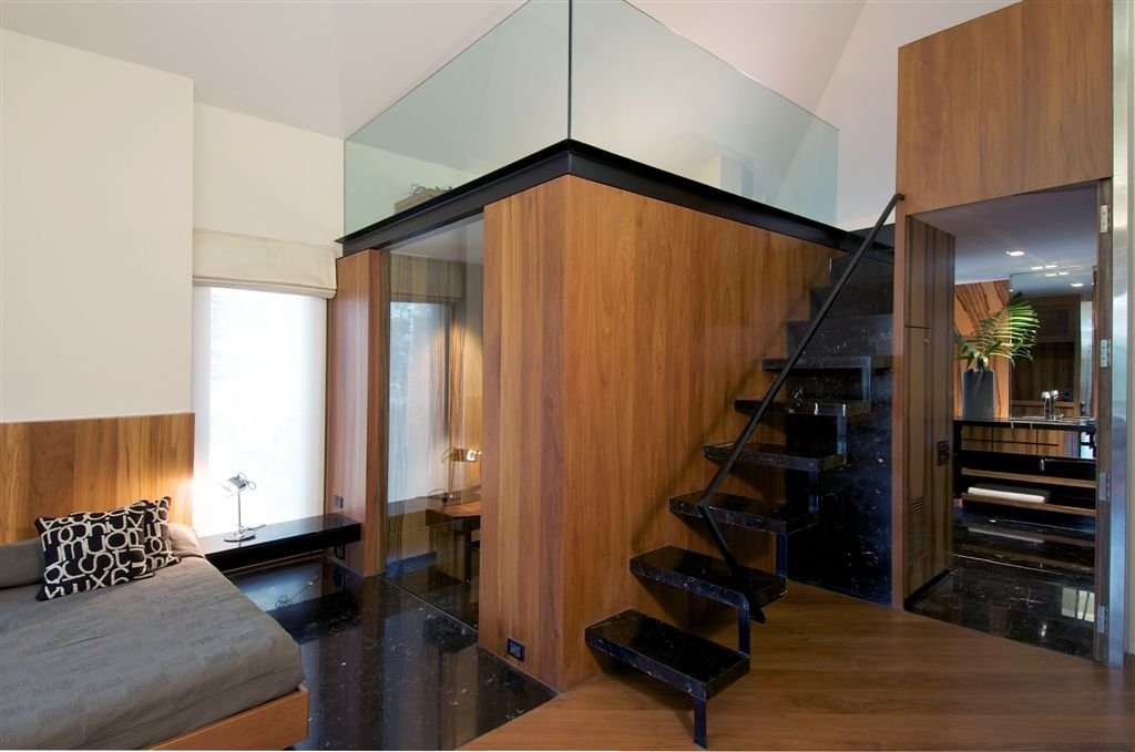 Hyderabad house by rajiv saini associates karmatrendz for Architecture design for home in hyderabad