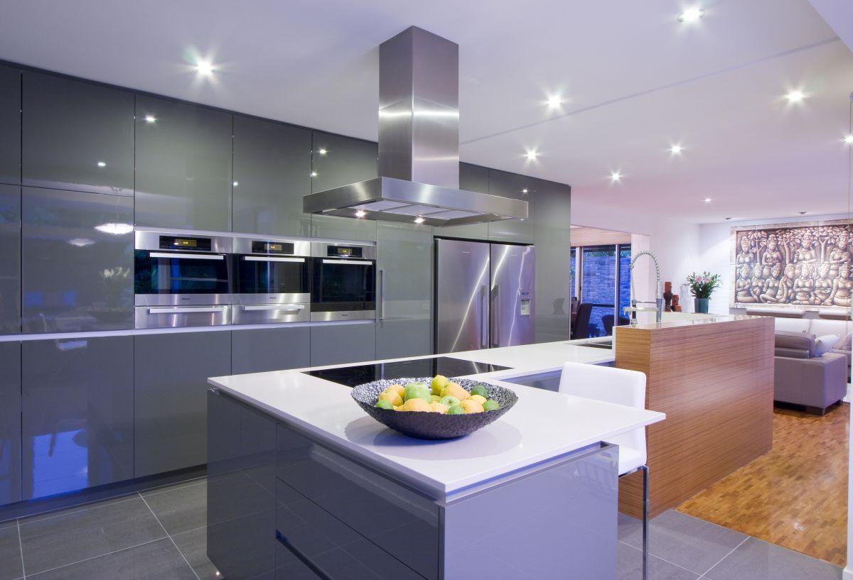Contemporary kitchen remodel by darren james karmatrendz