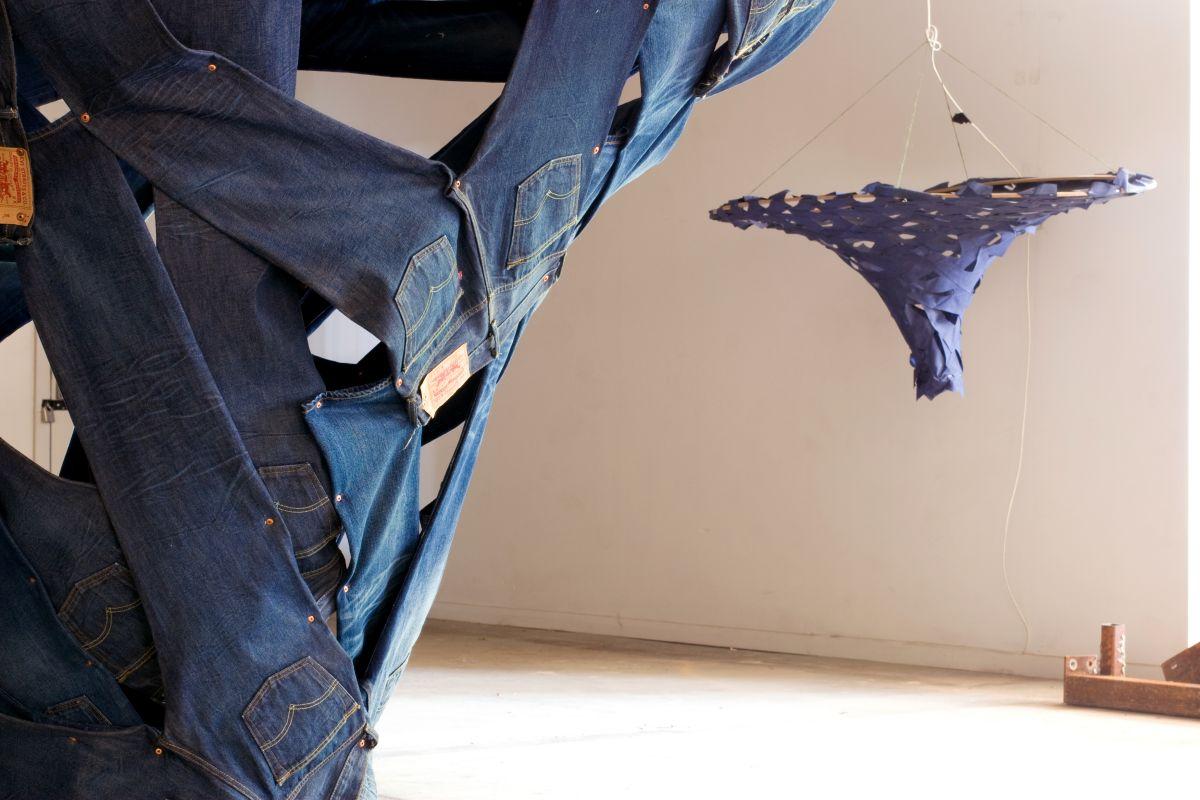 Levi's Sculpture by Ian Mcchesney