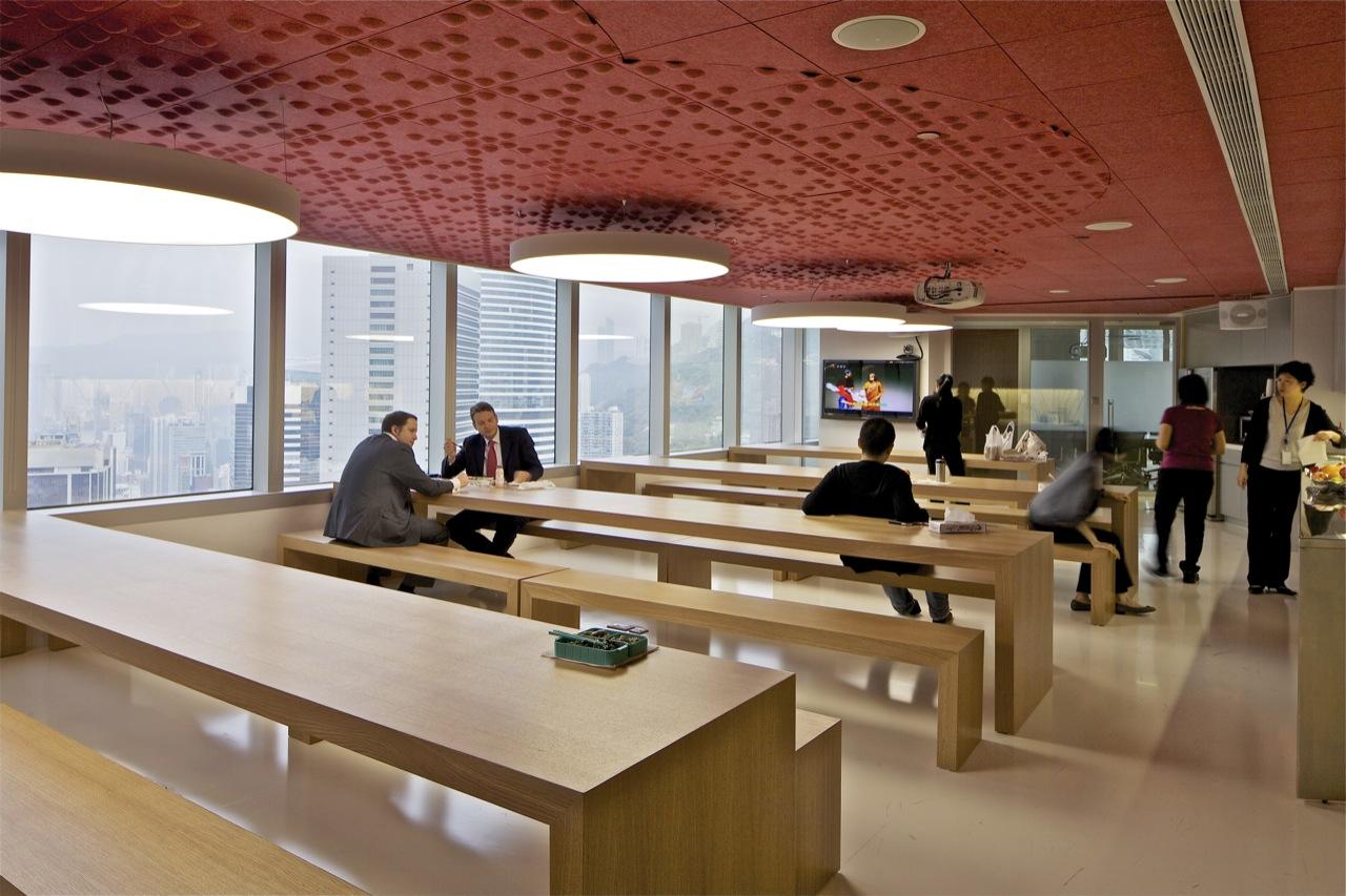 Mckinsey company hong kong office by oma karmatrendz for Interior design office hong kong