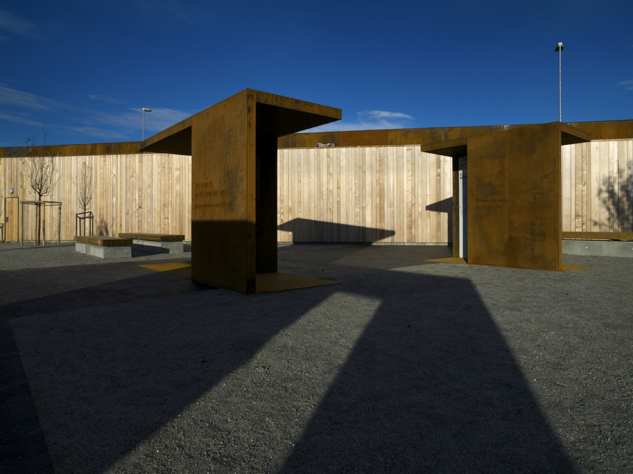 Solberg tower rest area by saunders architecture for Architecture rest