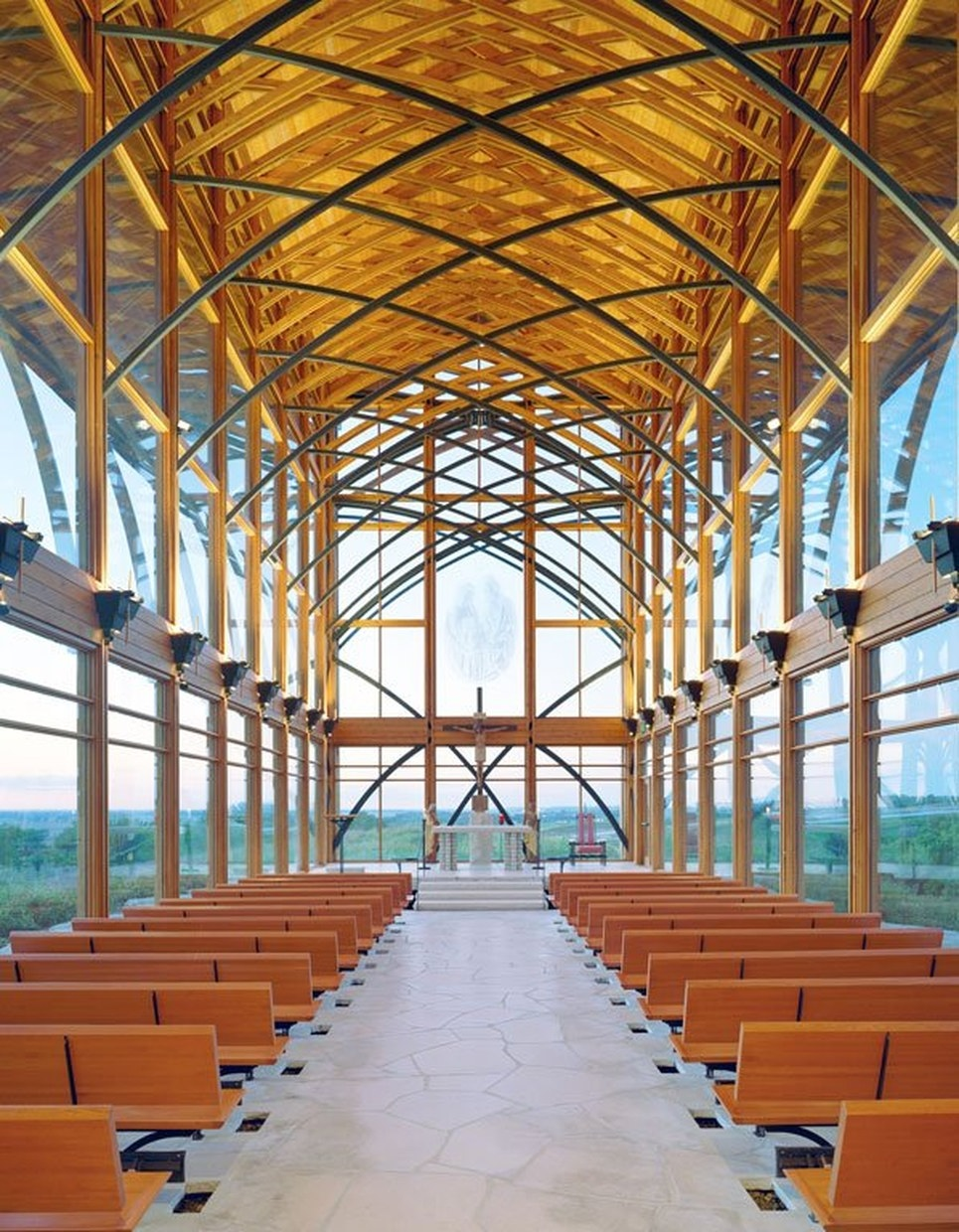 Holy Family Shrine By Bcdm Architects Karmatrendz