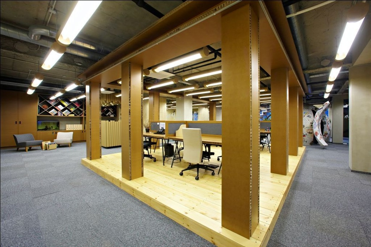 Mccann Erickson Riga And Inspired Office By Open Ad