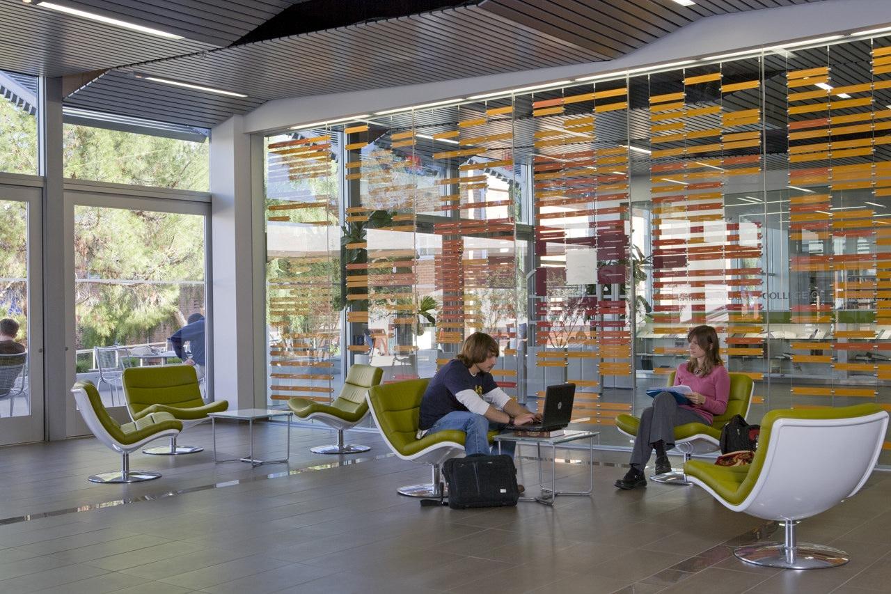 University of arizona james e rogers college of law renovation by gould evans karmatrendz for University of arizona interior design