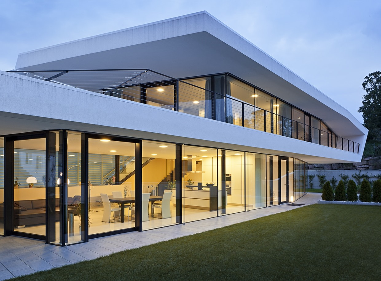 Giacomuzzi commercial building by monovolume architecture - Architecture of a building ...
