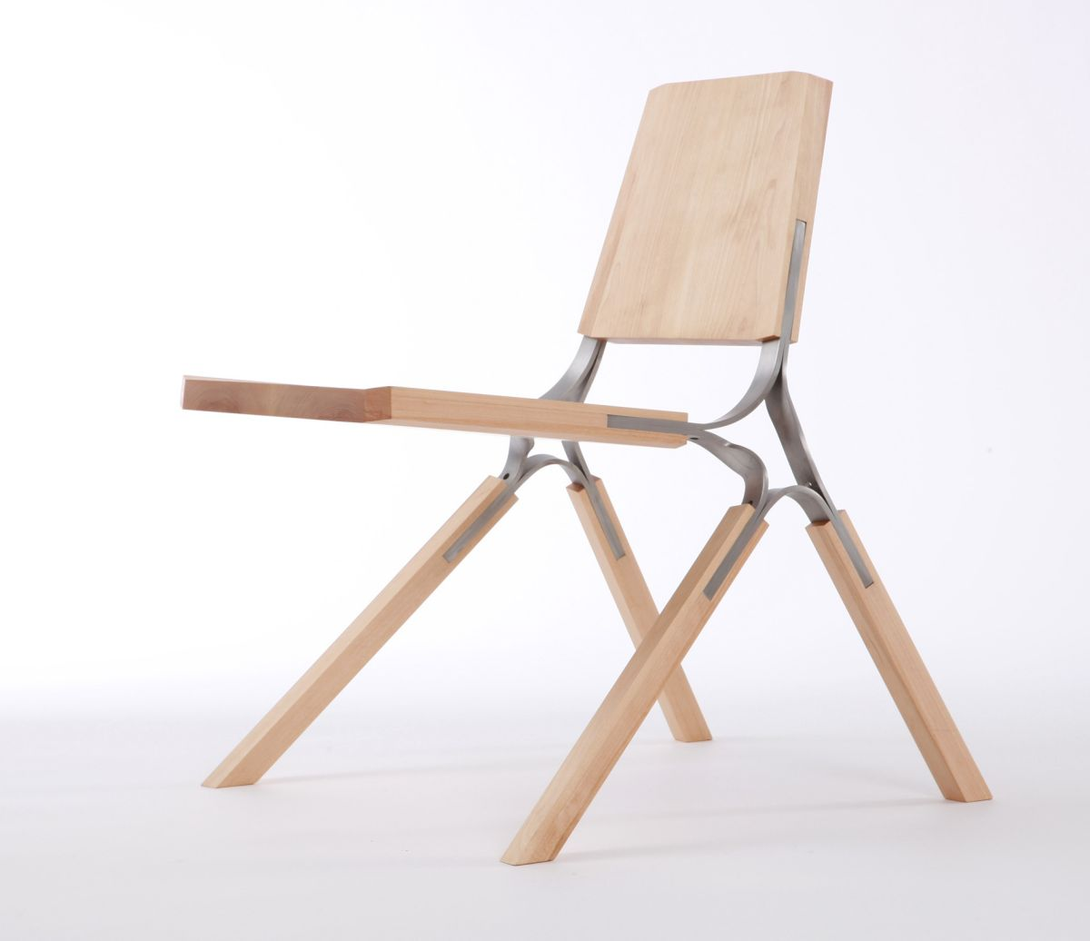Synapse chair by andrew perkins karmatrendz for Steel chair design