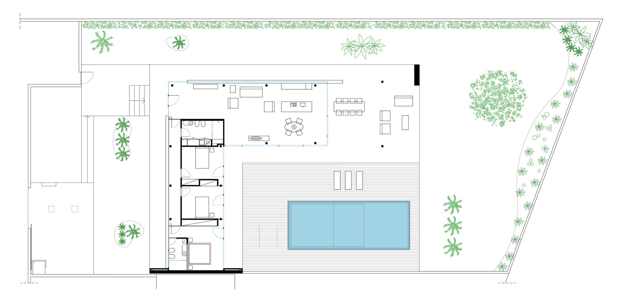 Extraordinary Stahl House Floor Plan Gallery