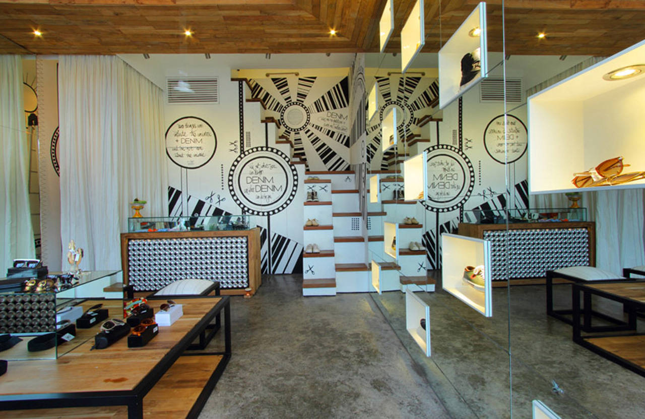 The New Denimdenim Store Interior Design
