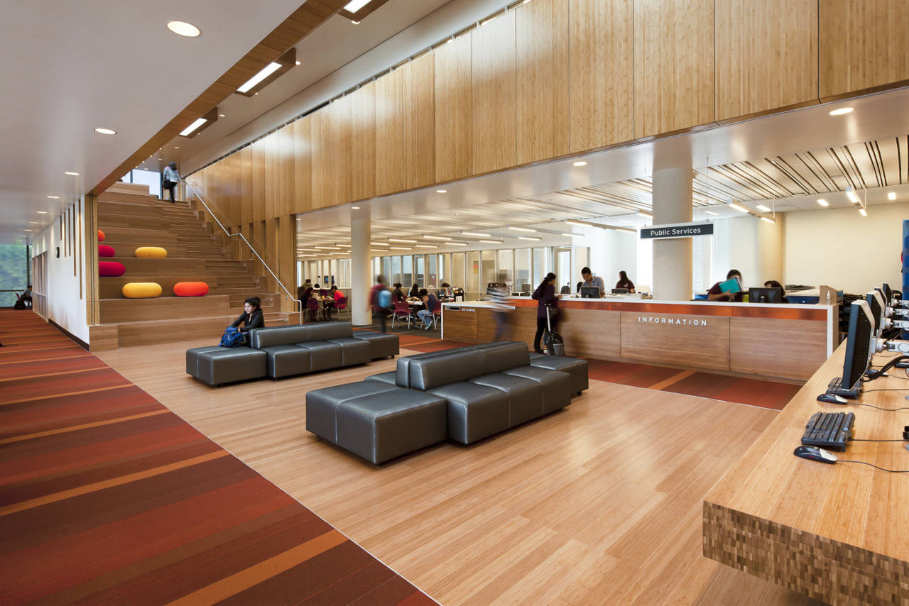 Golden west college by steinberg architects karmatrendz for Top interior architects