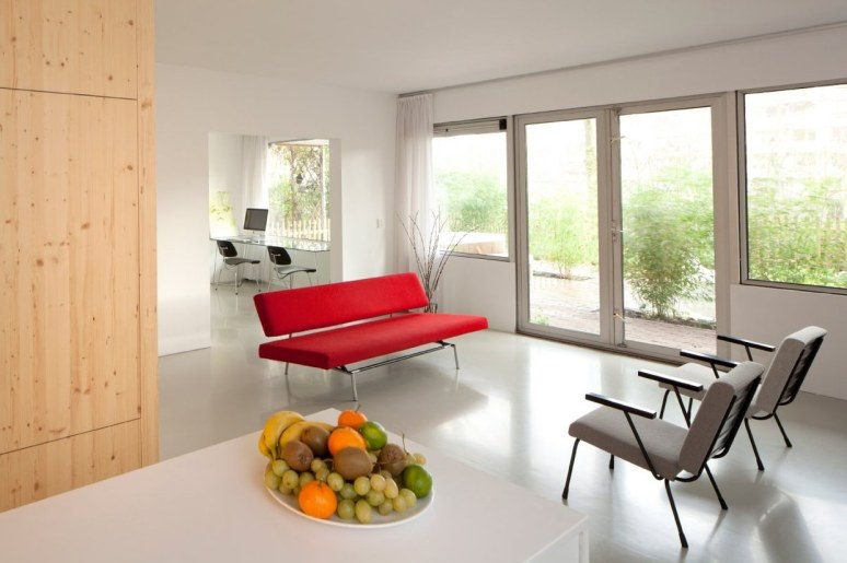 Laura Alvarez Architecture designed a complete interior renovation of an