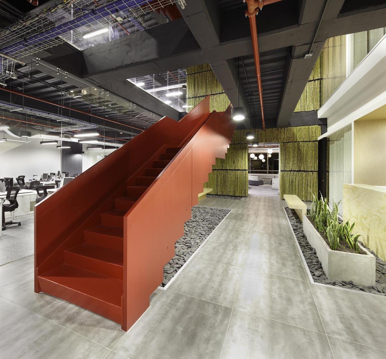 Jwt bogot headquarters by aei arquitectura e interiores for Arquitectura interior