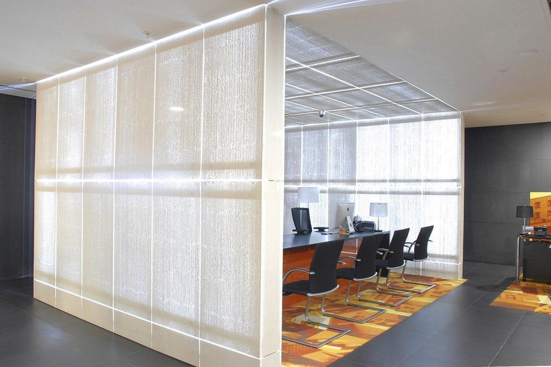 New Headquarters Of Bank Of Georgia Illuminated