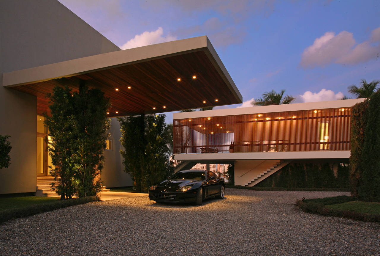 private residence in la gorce by touzet studio karmatrendz. Black Bedroom Furniture Sets. Home Design Ideas