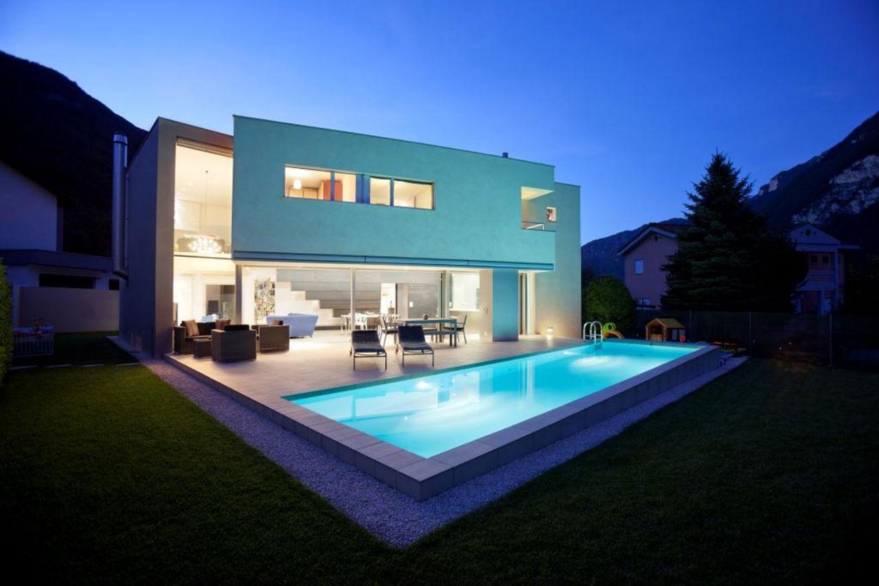 Riva san vitale house by gianluca martinelli architetto for Progetto casa moderna nuova costruzione