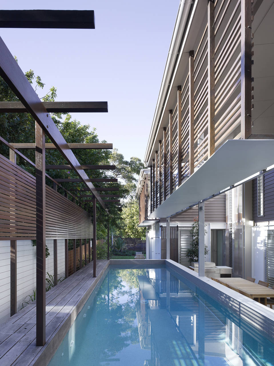 Sunshine beach pool house by bark design architects for Pool design queensland