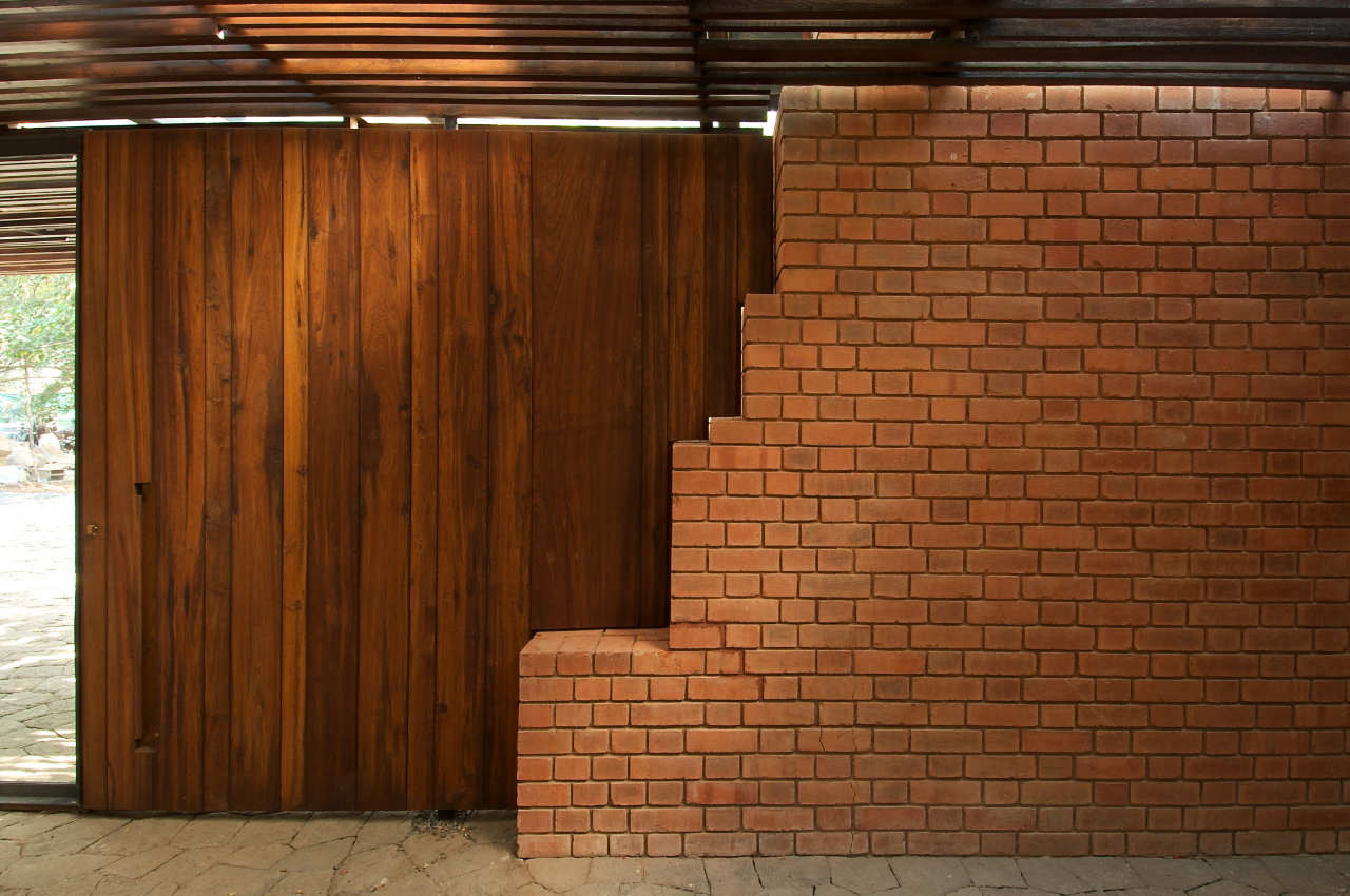 Brick Wall Interior House The Brick Kiln House By SPASM Design Architects KARMATRENDZ