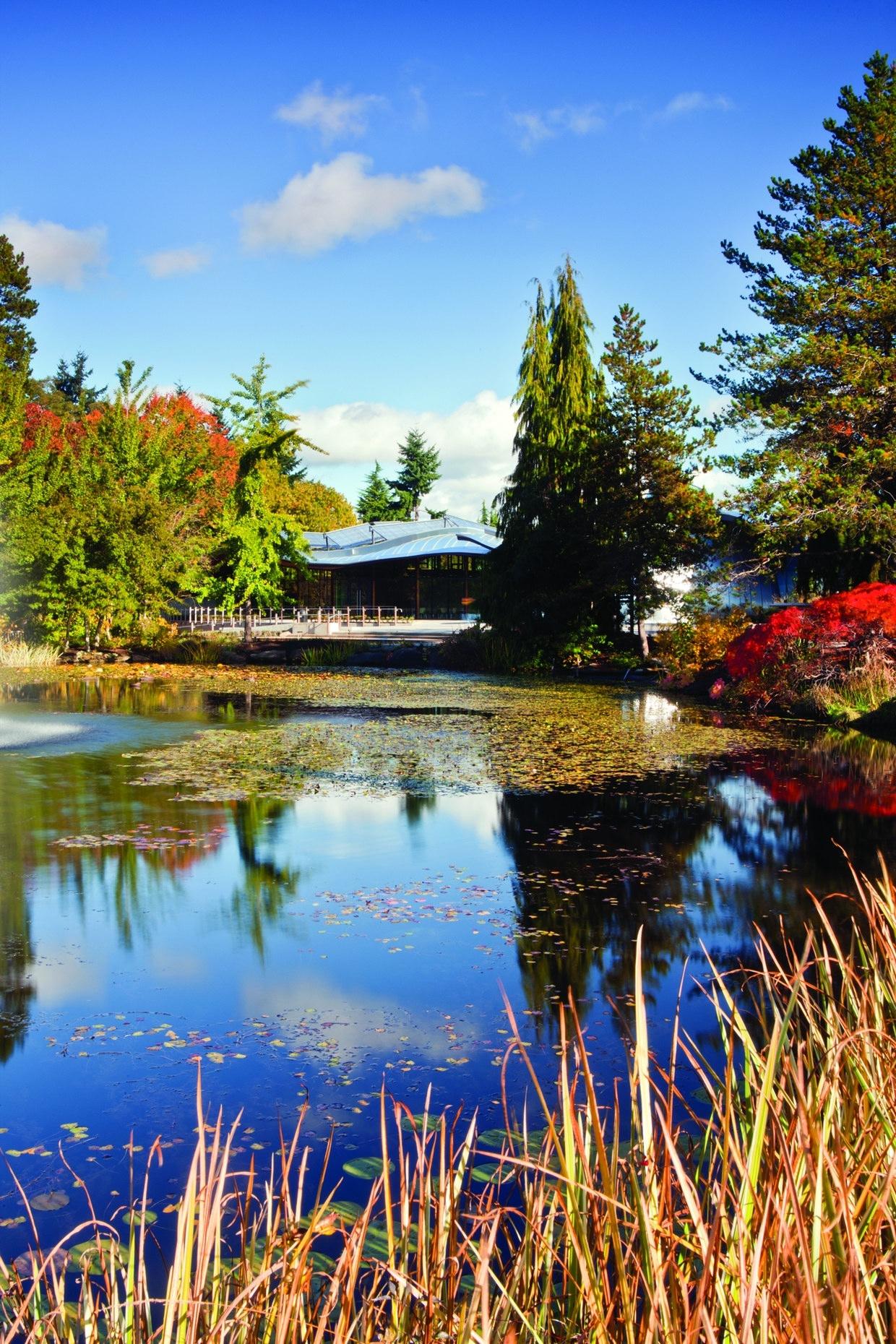 Vandusen Botanical Garden Visitor Centre By Perkins Will