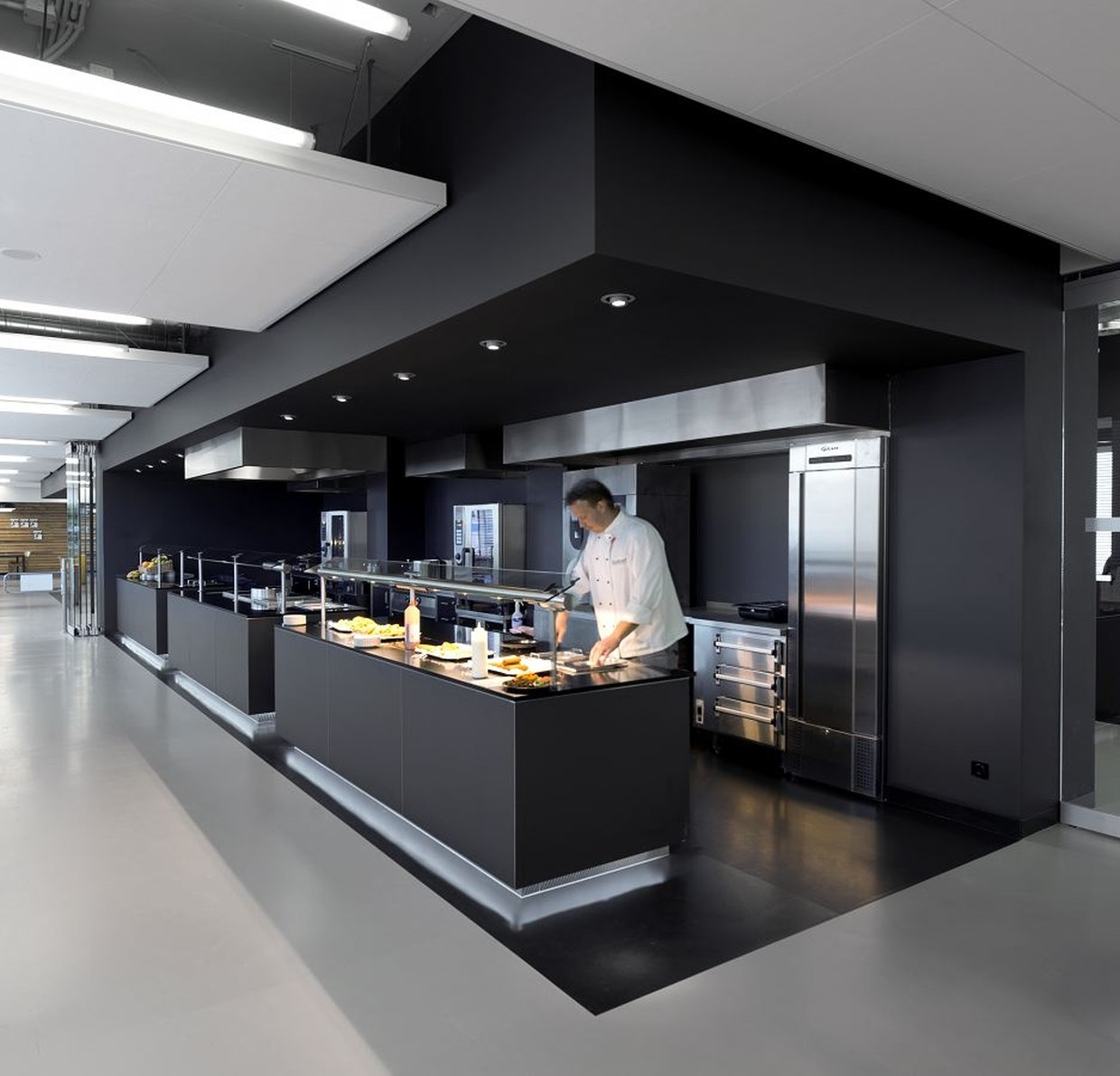 Kitchen Soffit Decor Ideas: Amstel Campus By OIII Architects