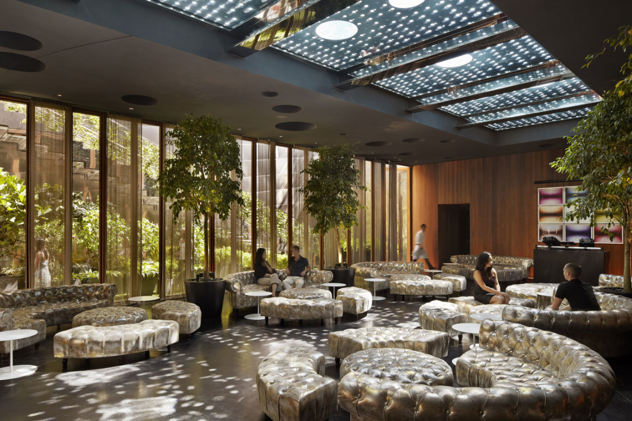 Dream downtown hotel by handel architects karmatrendz for Design hotel new york