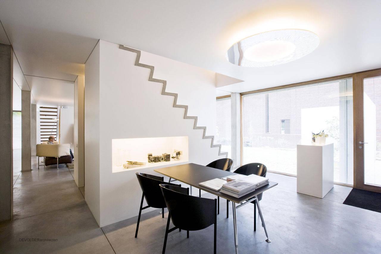 House And Design Studio In Kortrijk By Devolder